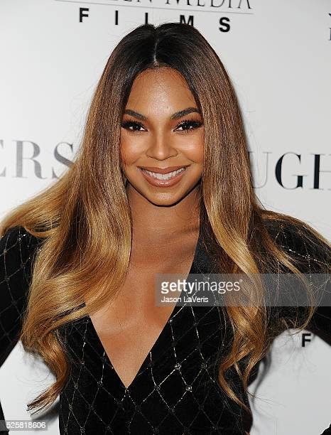 Executive producer Ashanti attends the premiere of 'Mothers and Daughters' at The London on April 28 2016 in West Hollywood California
