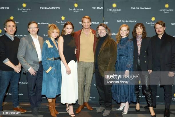 Executive Producer Ben Nedivi, Executive Producer Matt Wolpert, castmembers Sarah Jones, Shantel VanSanten, Joel Kinnaman, series creator Ronald D....