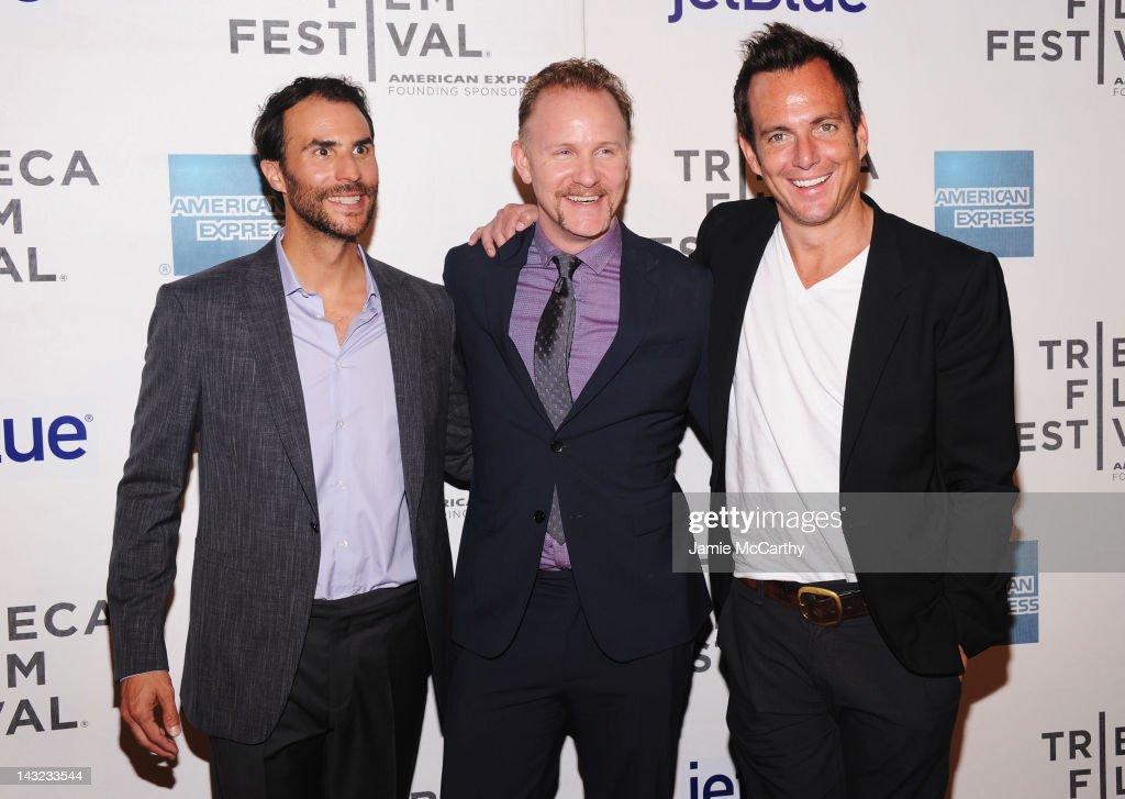 "World Premiere Of Morgan Spurlock's ""MANSOME"" At The Tribeca Film Festival"