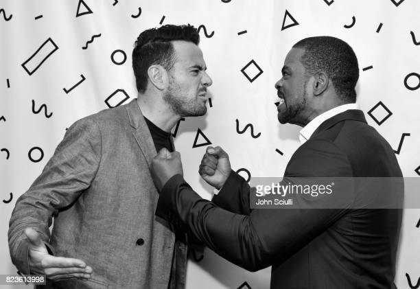 Executive producer Ben Winston and host Method Man of 'Mic Drop' at the TCA Turner Summer Press Tour 2017 Green Room at The Beverly Hilton Hotel on...