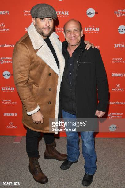 Executive producer Brad Feinstein and Paul BenVictor attend the 'Monster' Premiere during the 2018 Sundance Film Festival at Eccles Center Theatre on...