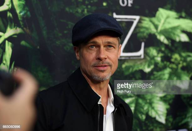 Executive producer Brad Pitt attends the premiere of Amazon Studios' The Lost City Of Z at ArcLight Hollywood on April 5 2017 in Hollywood California