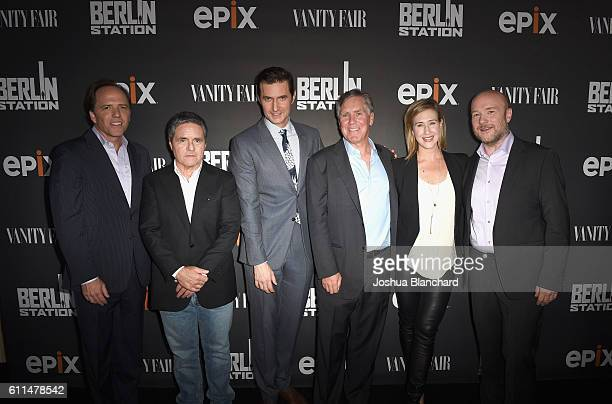 Executive producer Bradford Winters Chairman and CEO of Paramount Pictures Brad Grey actor Richard Armitage President/CEO of EPIX Mark Greenberg...