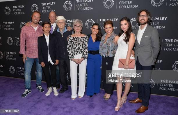 Executive Producer Brent Miller actor Marcel Ruiz executive producers Mike Royce and Normal Lear actress Rita Moreno executive producer Gloria...