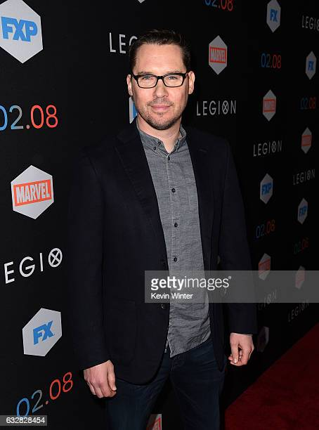 Executive producer Bryan Singer arrives at the premiere of FX's Legion at the Pacific Design Center on January 26 2017 in West Hollywood California