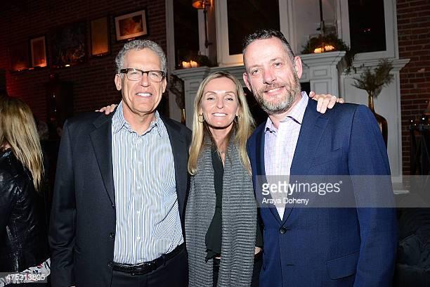 Executive producer Carlton Cuse AE SVP of Drama Programming Tana Nugent Jamieson and Executive Vice President and General Manager of AE David...