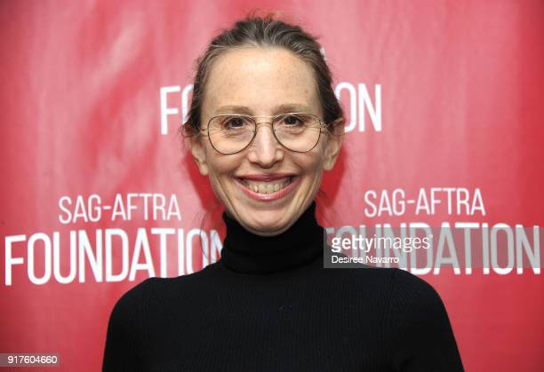 Executive producer Caroline Baron attends SAGAFTRA Foundation Conversations 'Mozart In The Jungle' at The Robin Williams Center on February 12 2018...