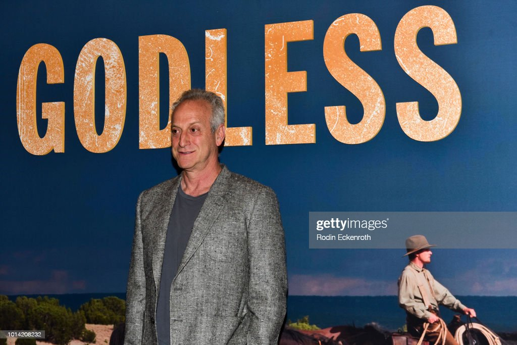 Executive Producer Casey Silver attends the Netflix 12 Emmy nominations celebration for 'Godless' at DGA Theater on August 9, 2018 in Los Angeles, California.