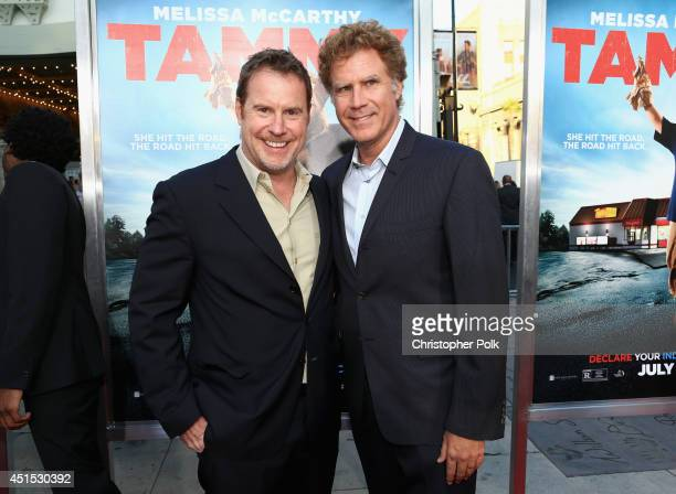 """Executive producer Chris Henchy and producer Will Ferrell attend the """"Tammy"""" Los Angeles premiere at TCL Chinese Theatre on June 30, 2014 in..."""