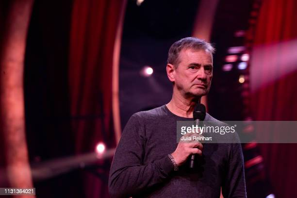 Executive producer Christer Bjorkman meets the press ahead of the fourth heat of Melodifestivalen Sweden's competition to select the country's...