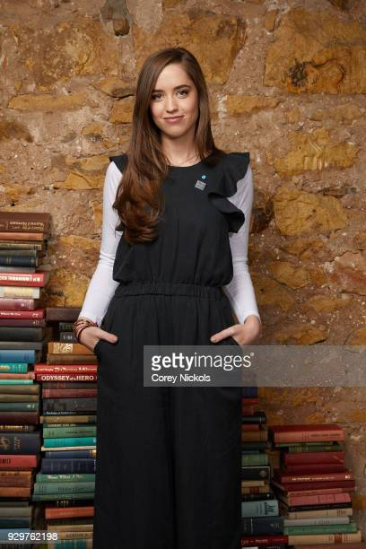 Executive Producer Christina Schwarzenegger from the film Take Your Pills poses for a portrait in the Getty Images Portrait Studio Powered by Pizza...