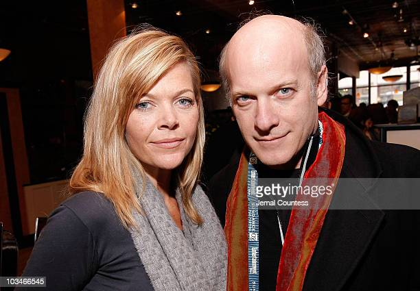 Executive Producer Christina Simpkins and Photographer Timothy GreenfieldSanders attends the New York Times Brunch during the 2008 Sundance Film...