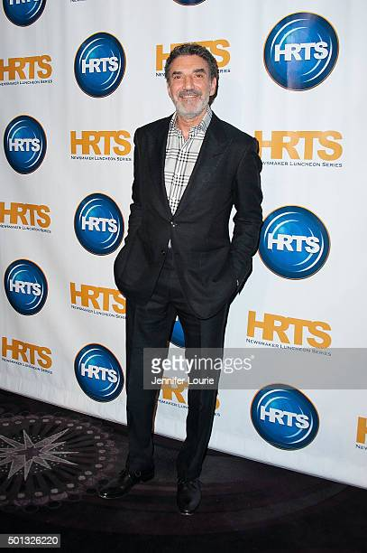 Executive producer Chuck Lorre arrives at The Hollywood Radio And Television Society hosts 'Building A Kingdom Then And Now' at The Beverly Hilton...