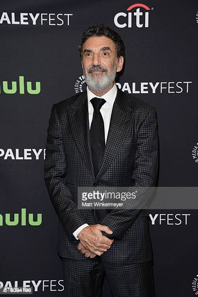 Executive producer Chuck Lorre arrives at The Paley Center For Media's 33rd Annual PALEYFEST Los Angeles 'The Big Bang Theory' at Dolby Theatre on...