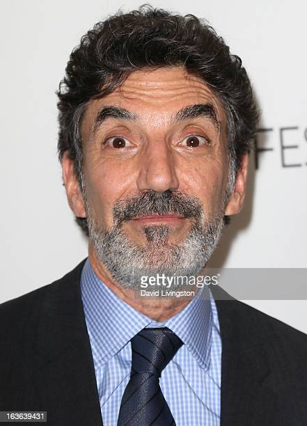 Executive producer Chuck Lorre attends The Paley Center For Media's PaleyFest 2013 honoring 'The Big Bang Theory' at the Saban Theatre on March 13...