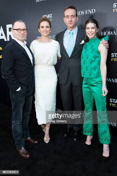 Executive Producer Colin Callender and Actors Hayley Atwell Matthew Macfadyen and Philippa Coulthard attend the For Your Consideration Event For...