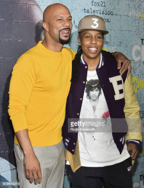 """Executive Producer Common and Creator/Writer Lena Waithe attend the For Your Consideration event for Showtime's """"The Chi"""" at DGA Theater on March 9,..."""
