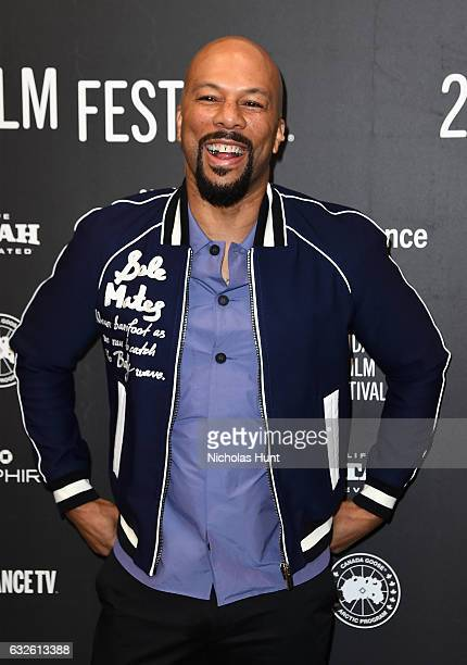 Executive Producer Common attends the Burning Sands Premiere at Eccles Center Theatre on January 24 2017 in Park City Utah