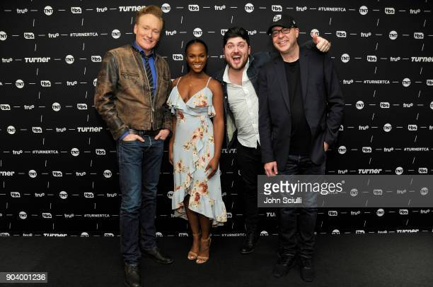 Executive Producer Conan O'Brien Actor Tika Sumpter Creator/Writer/Executive Producer/Actor Olan Rogers and Executive Producer/Writer David Sacks of...