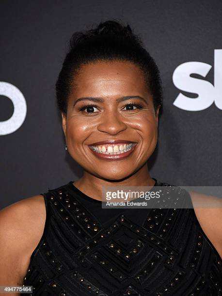 Executive producer Courtney Kemp Agboh arrives at the premiere of STARZ's Ash Vs Evil Dead at TCL Chinese Theatre on October 28 2015 in Hollywood...