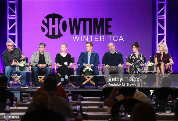 Executive producer creator Brian Koppelman executive producer creator David Levien actors Asia Kate Dillon Damian Lewis Paul Giamatti Maggie Siff and...