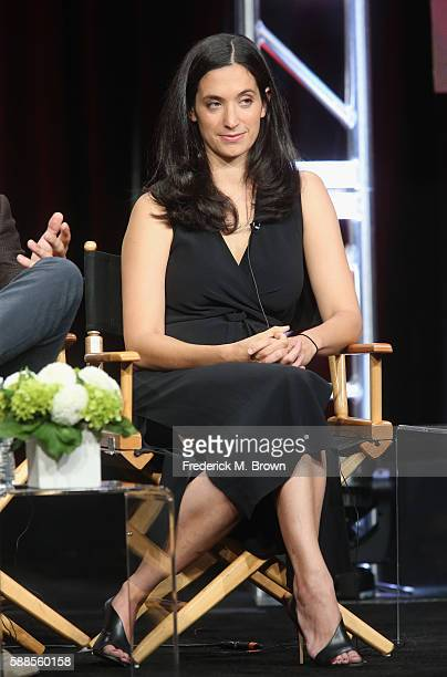 Executive producer creator The Affair Sarah Treem speaks onstage at 'Love Marriage on TV' panel discussion during the Showtime portion of the 2016...