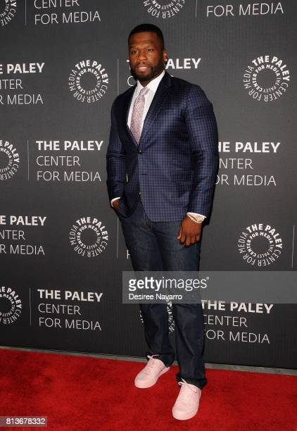 Executive producer Curtis '50 Cent' Jackson attends PaleyLive NY presents an evening with the cast and creative team of 'Power' at The Paley Center...