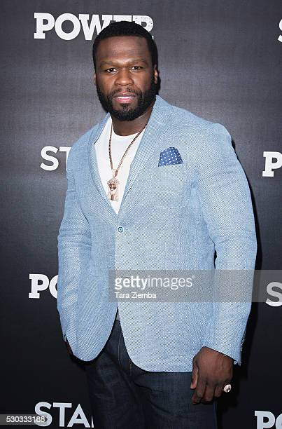 Executive Producer Curtis '50 Cent' Jackson attends the For Your Consideration Event For STARZ's 'Power' at ArcLight Hollywood on May 10 2016 in...
