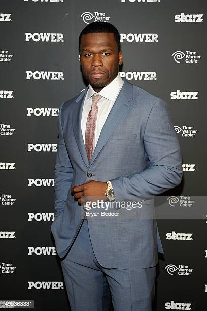 Executive producer Curtis '50 Cent' Jackson attends the Starz 'Power' premiere on June 2 2014 in New York City