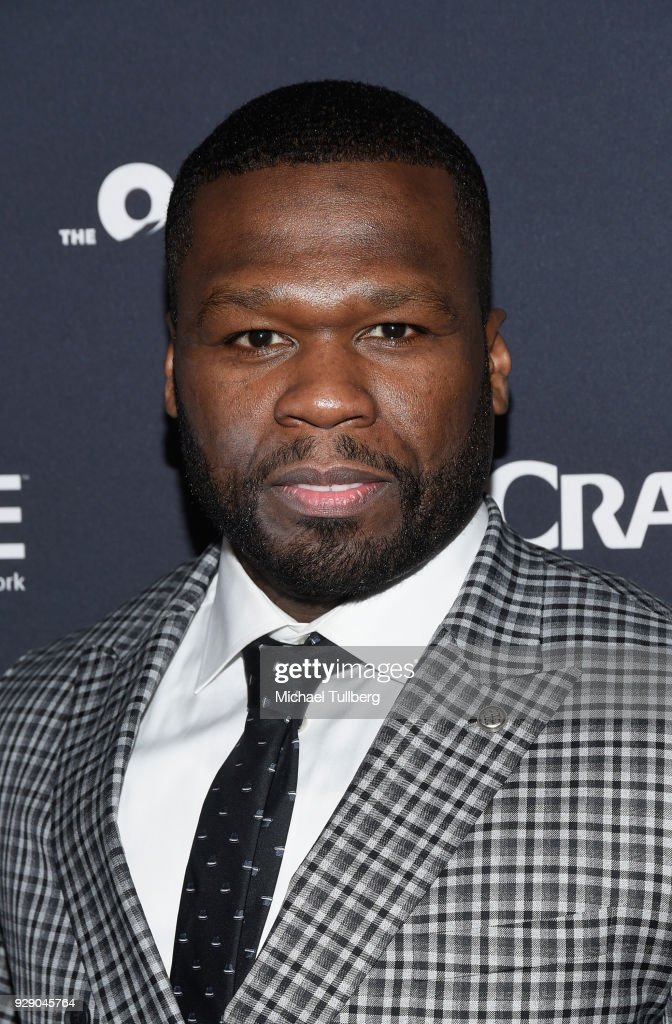 Executive Producer Curtis Jackson aka 50 Cent attends the premiere of Crackle's 'The Oath' at Sony Pictures Studios on March 7, 2018 in Culver City, California.