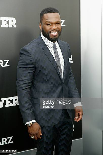 Executive producer Curtis Jackson attends STARZ 'Power' New York season three premiere at the SVA Theatre on June 22 2016 in New York City
