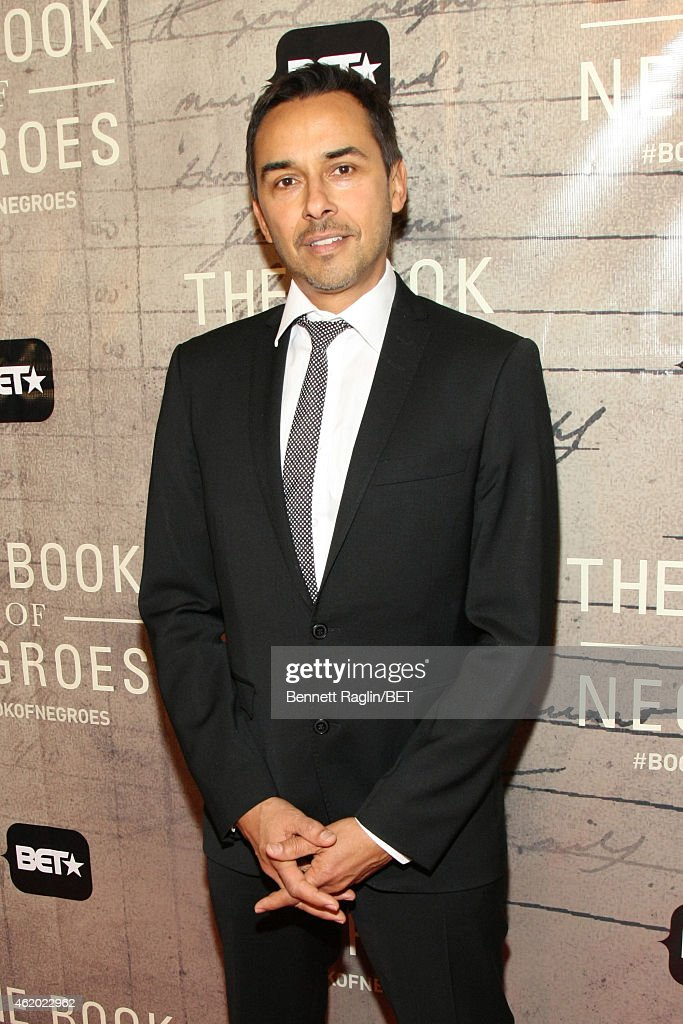 Executive Producer Damon D'Oliveira attends 'The Book of Negroes' screening reception at The National Archives on January 22, 2015 in Washington, DC.