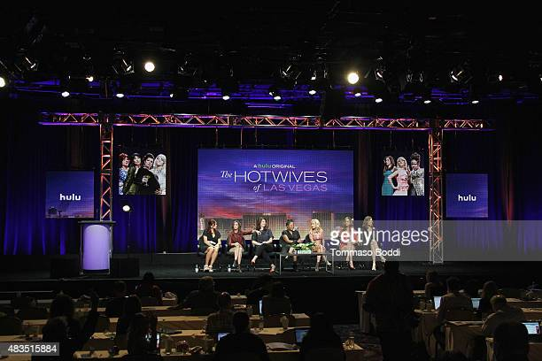 Executive Producer Dannah Phirman Executive Producer Danielle Schneider and actresses Casey Wilson Tymberlee Hill Angela Kinsey Andrea Savage and...