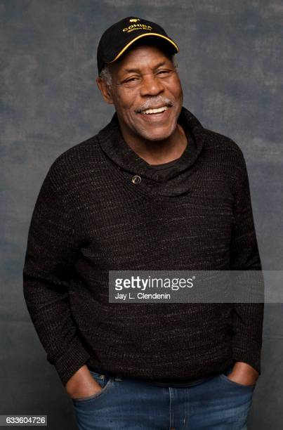 Executive Producer Danny Glover from the documentary film Strong Island is photographed at the 2017 Sundance Film Festival for Los Angeles Times on...