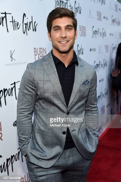 Executive producer David Bernon attends the Los Angeles Premiere of Support The Girls on August 22 2018 in Los Angeles California