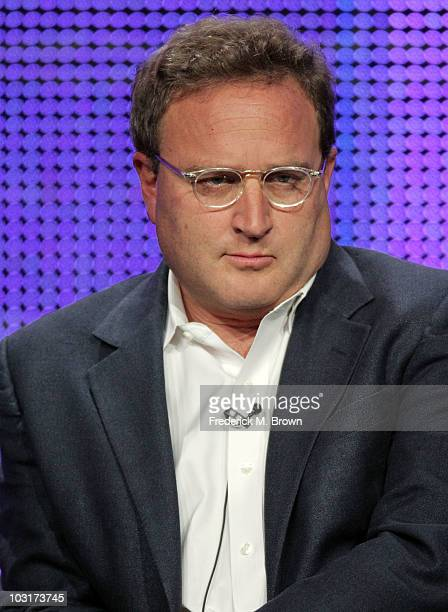 Executive producer David Kissinger speaks onstage during the Outlaw session panel for the NBC Universal portion of the summer Television Critics...