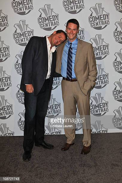 Executive Producer David Stern and writer / producer Jeff Poliquin arrive at Comedy Central's 62nd Annual Emmy After Party at The Colony on August 29...