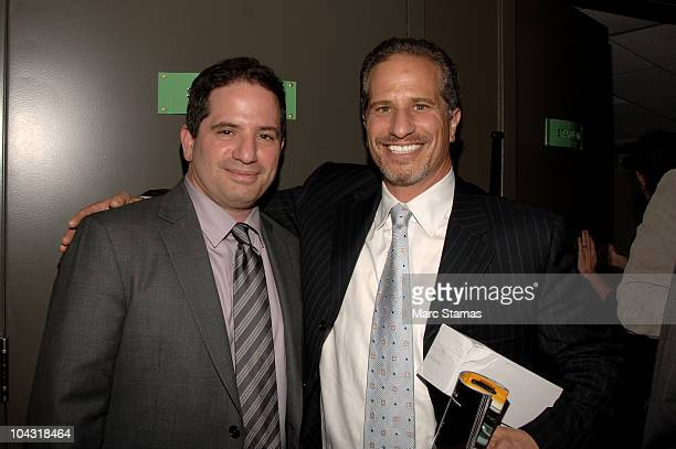 Executive Producer David Zabel and Richard Zabel attend the opening night party for the 6th annual New York Television Festival at the SVA Theater on...