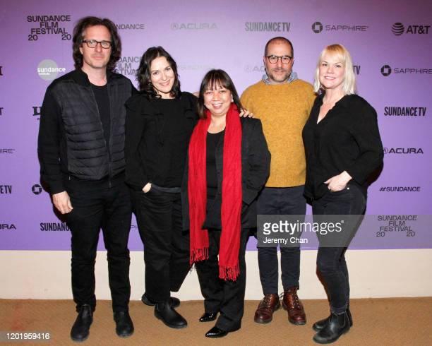 Executive Producer Davis Guggenheim, Executive Producer Nicole Stott, Writer/Director Ramona S. Diaz, Executive Producer Jonathan Silberberg and...
