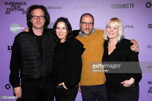 """Executive Producer Davis Guggenheim, Executive Producer Nicole Stott, Executive Producer Jonathan Silberberg and Shannon Dill attend the """"A Thousand..."""