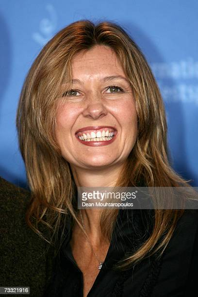 Executive Producer Deborah Snyder attends a photocall to promote the movie '300' during the 57th Berlin International Film Festival on February 14...