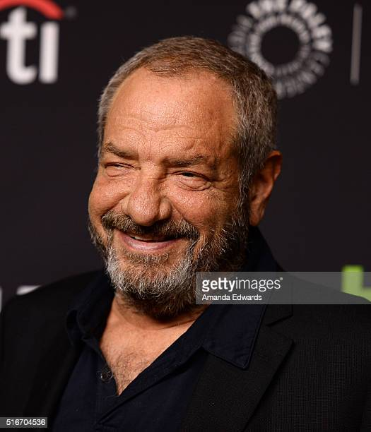 Executive producer Dick Wolf arrives at The Paley Center For Media's 33rd Annual PaleyFest Los Angeles Stars of Law and Order SVU Chicago Fire...