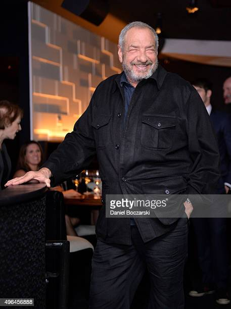 Executive Producer Dick Wolf attends the premiere party for NBC's 'Chicago Fire', 'Chicago P.D.' and 'Chicago Med' at STK Chicago on November 9, 2015...