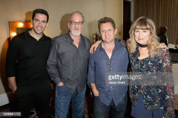 Executive producer Eli Roth actor Robert Englund actor Alex Winter and director Catherine Hardwicke attend the AMC Networks portion of the Summer...