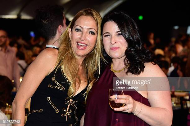 Executive producer Elika Portnoy and producer Amy Kaufman attend the 2016 Film Independent Spirit Awards on February 27 2016 in Santa Monica...