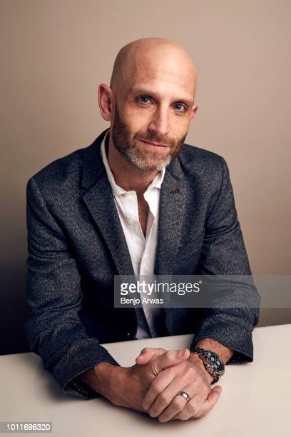 Executive Producer Eric Guggenheim of CBS's 'Magnum PI' poses for a portrait during the 2018 Summer Television Critics Association Press Tour at The...