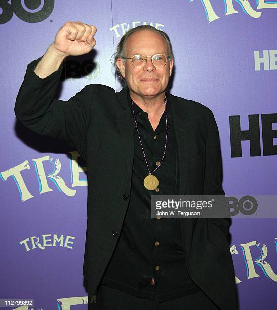 """Executive producer Eric Overmyer attends the """"Treme"""" New York Premiere at The Museum of Modern Art on April 21, 2011 in New York City."""