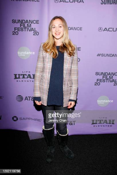 Executive Producer Eve Marson attends the 2020 Sundance Film Festival Documentary Shorts Program 2 at Temple Theater on January 26 2020 in Park City...