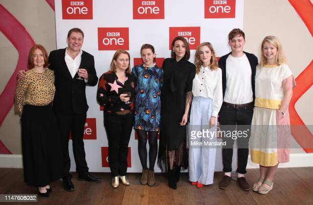 Executive Producer Faith Penhale actors Joe Armstrong Rosie Cavaliero Gemma Whelan Suranne Jones Sophie Rundle Ben Hunter and executive producer...