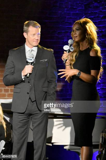 Executive Producer FIFA World Cup on FOX David Neal and Studio Host Kate Adbo attends FOX Sports 2018 FIFA World Cup Celebration on September 26 2017...